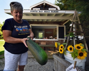 One of the many roadside farm stands